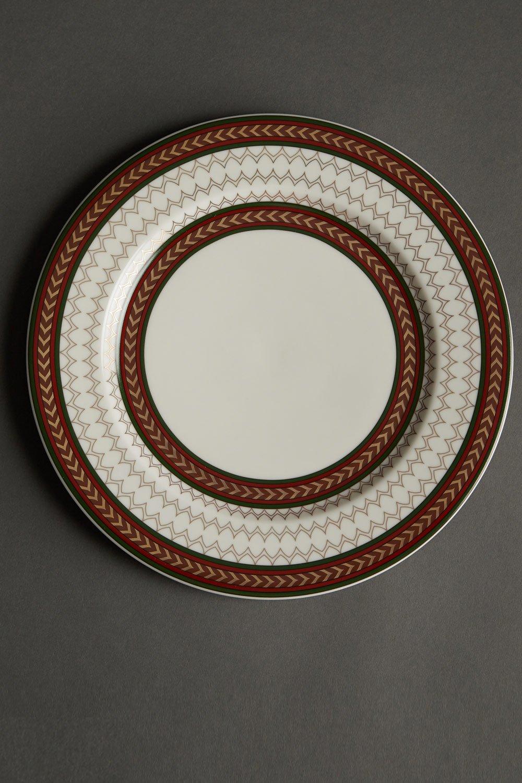 Off White Plates Set Of Four By Ritu Kumar Home Carmaonline Shop
