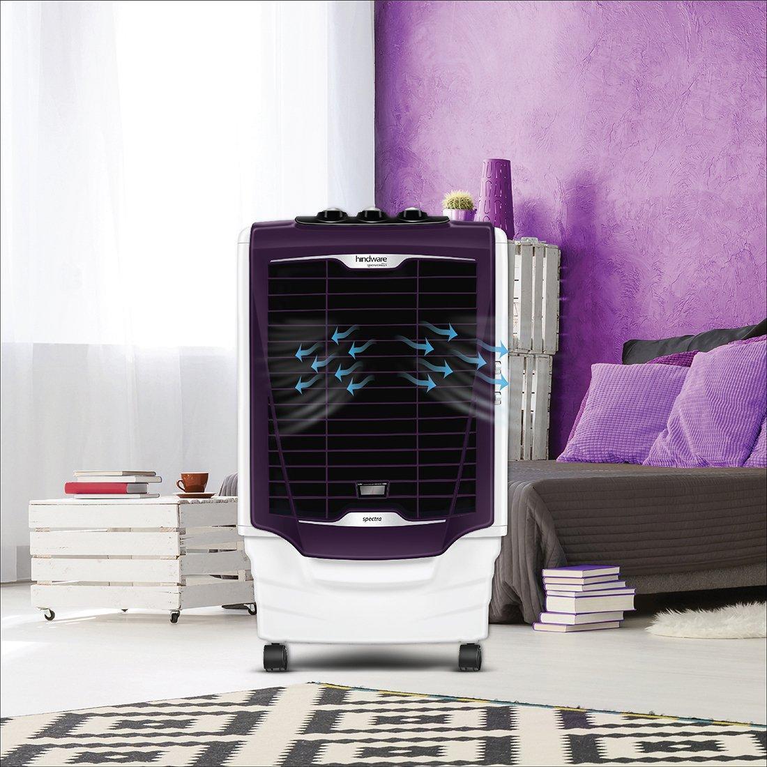 Buy Hindware 80 L Desert Air Cooler (Premium Purple, SNOWCREST 80-HS)  Online - Evok