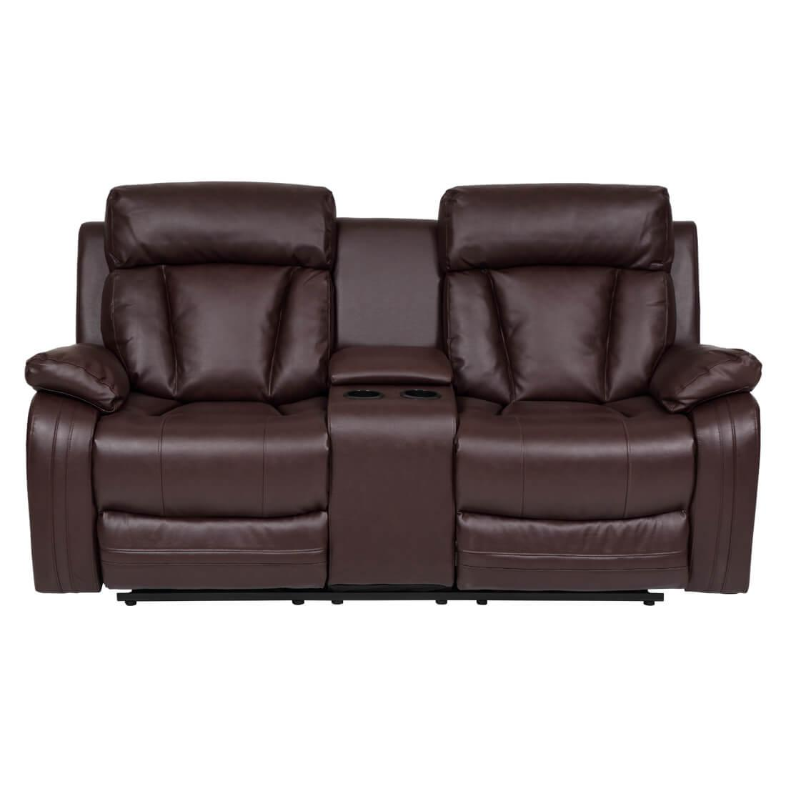 Magna Plus Leatherette Recliner Sofa
