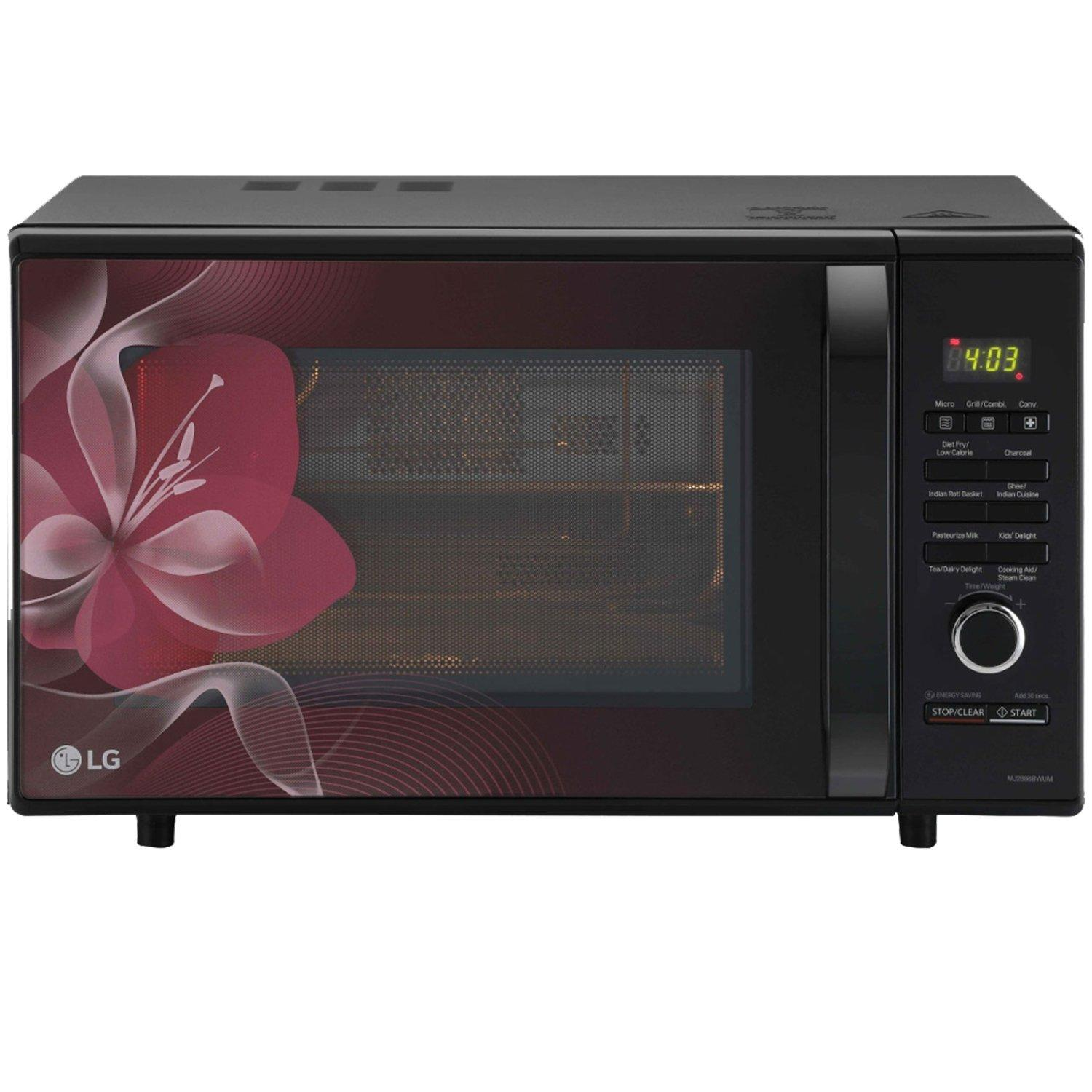 Lg Microwave Oven Convection Mj2886bwum
