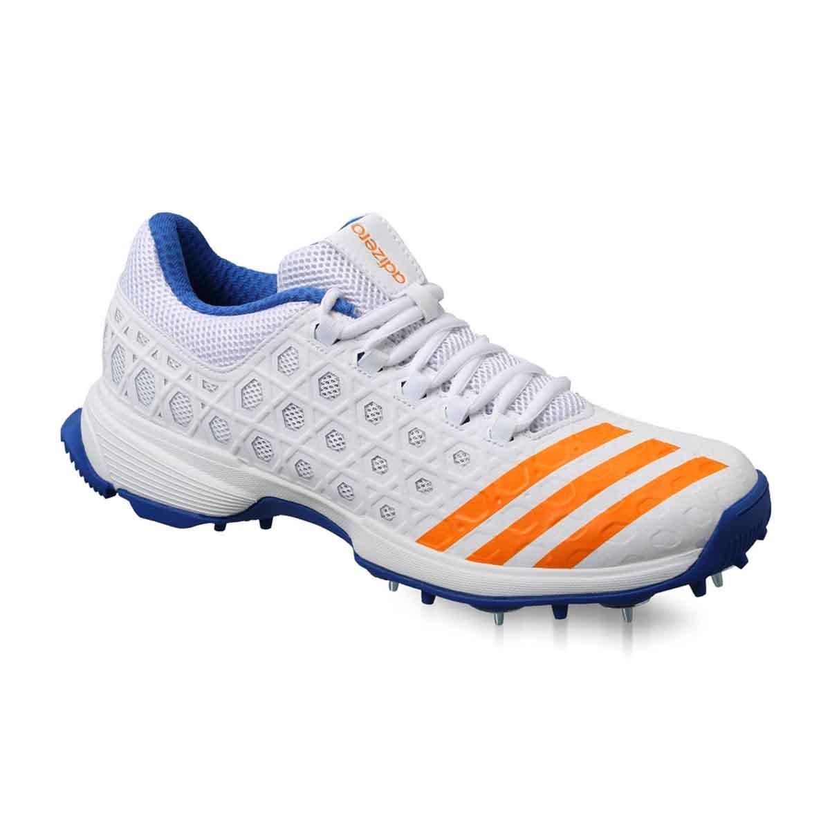 Adidas SL22 Cricket Shoes (White/Blue)