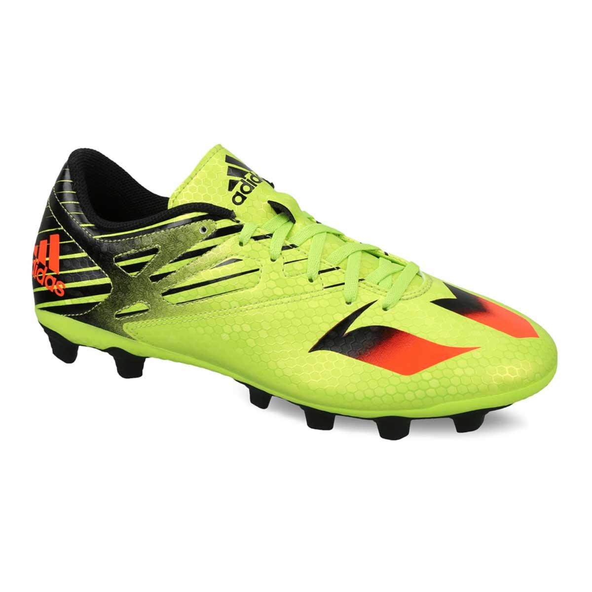 navegación ficción Reafirmar  Buy Adidas Messi 15.4 FXG Football Shoes (Green/Red/Black) Online
