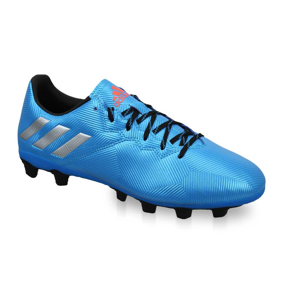 taller Duquesa servilleta  Buy Adidas Messi 16.4 FXG Football Shoes (Blue/Silver/Black) Online