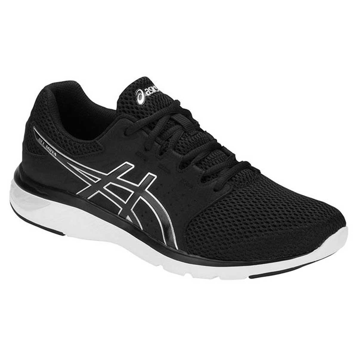 erosión Deflector celestial  Buy Asics Gel-Moya Running Shoes (Black/Silver) Online India