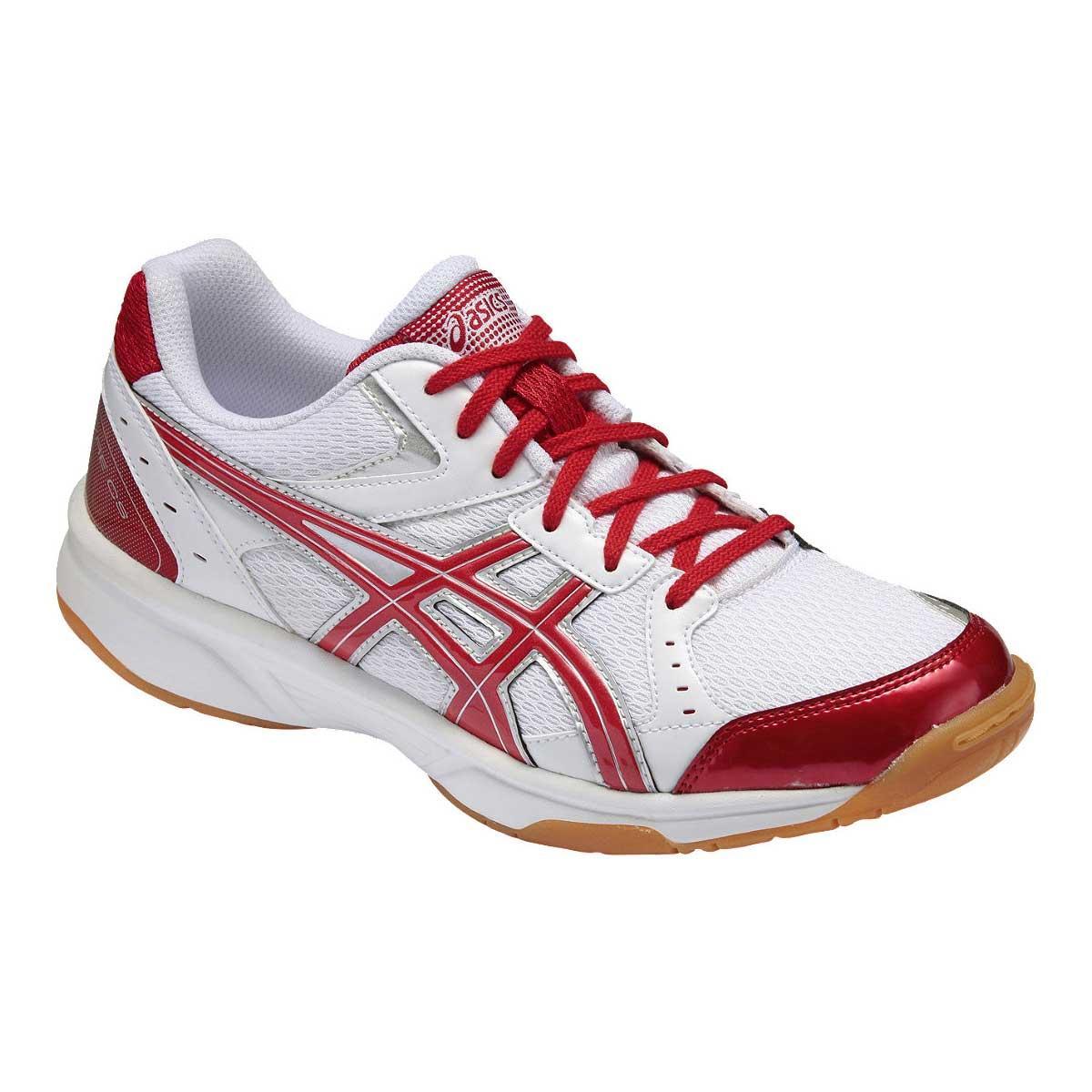Asics Rivre CS Indoor Court Shoes (White/Red)