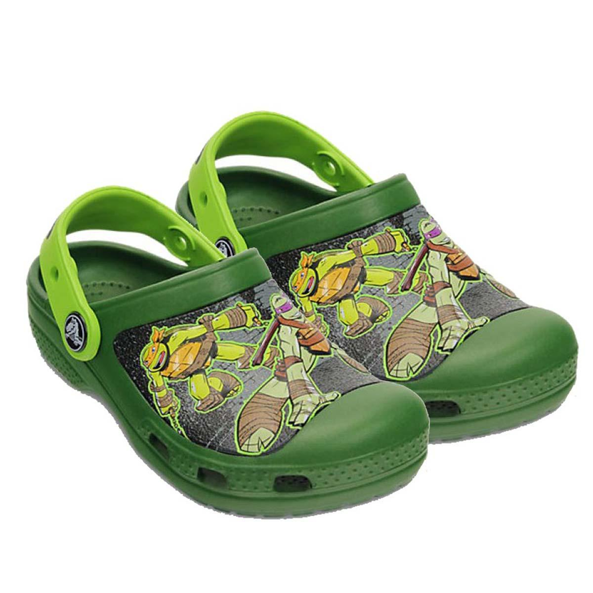 Crocs Cc Tmnt Kids Clog Sea Volt Green Online At Lowest Price In India