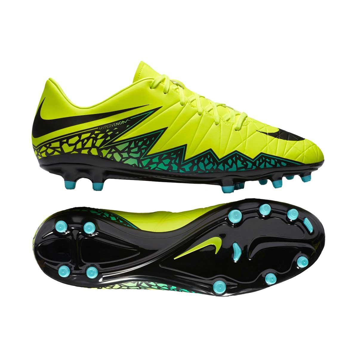 Proponer Educación moral paracaídas  Buy Nike Hypervenom Phelon II FG Football Shoes (Volt/Black) Online