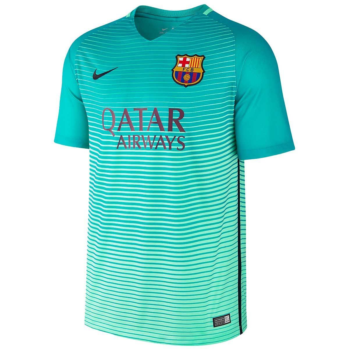 Buy Nike Fc Barcelona Jersey 2016 17 Green Online India