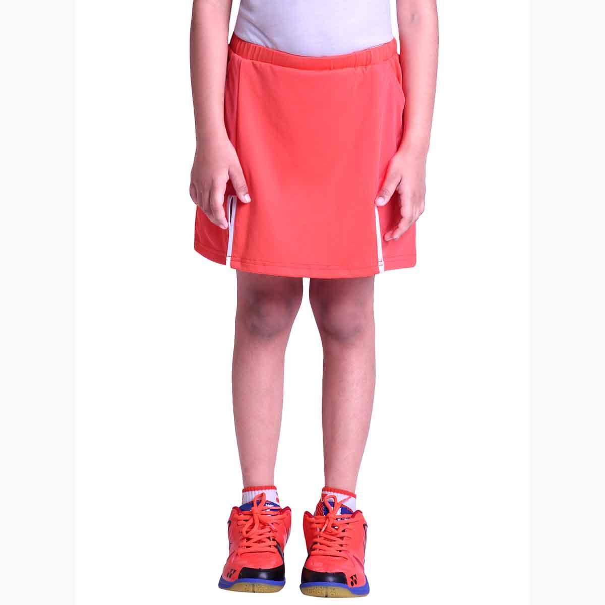 Buy Yonex Junior Girls Skorts Hot Coral 857 Online India
