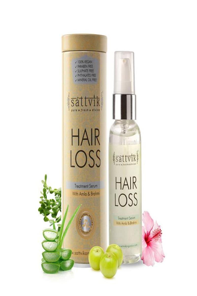 Sattvik Organics Hair Loss Treatment Serum 60 Ml Planeteves Com
