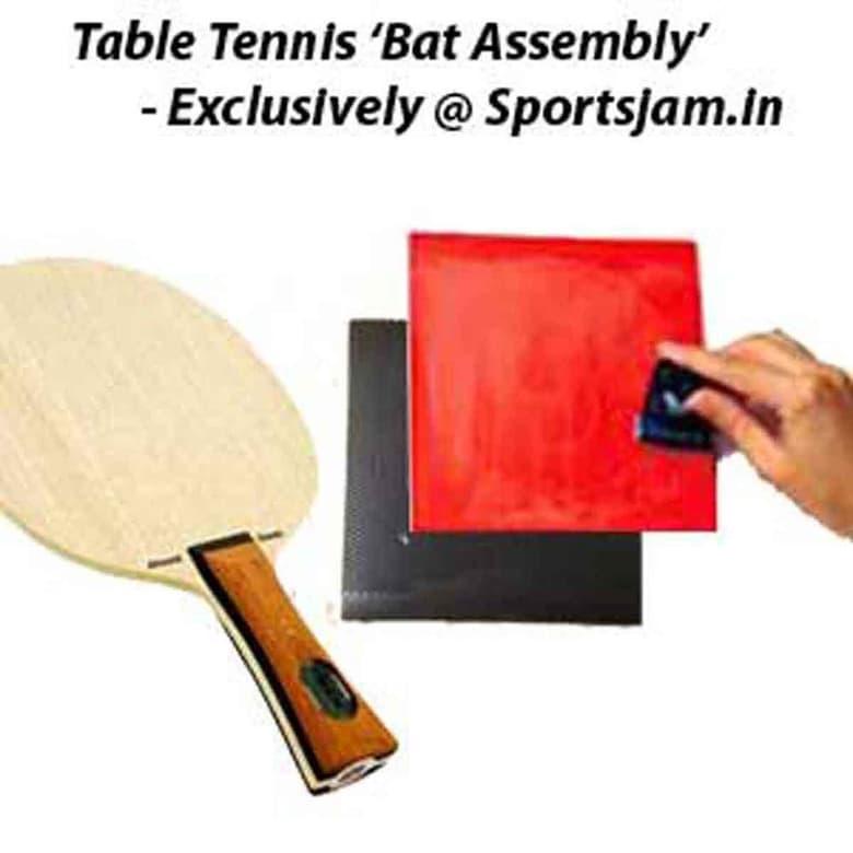 Table Tennis Bat Assembly