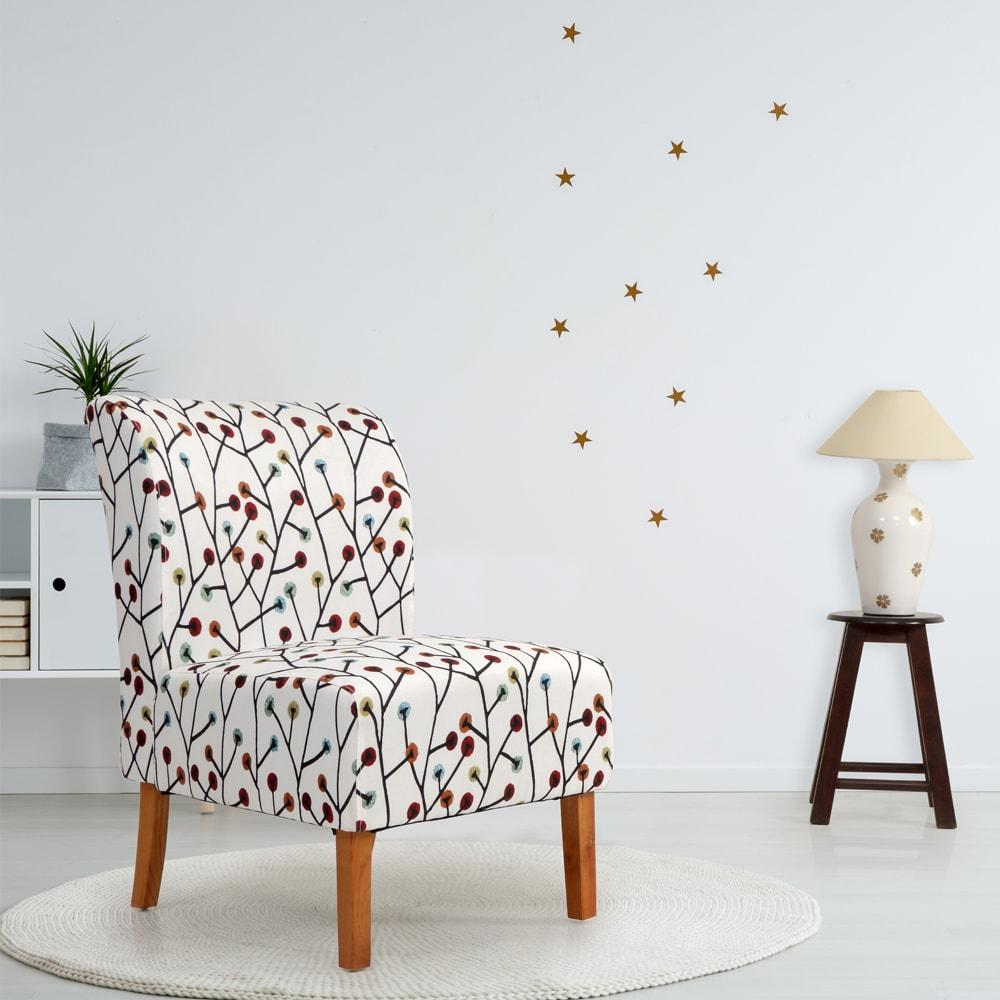 Justin Fabric Lobby Chair -