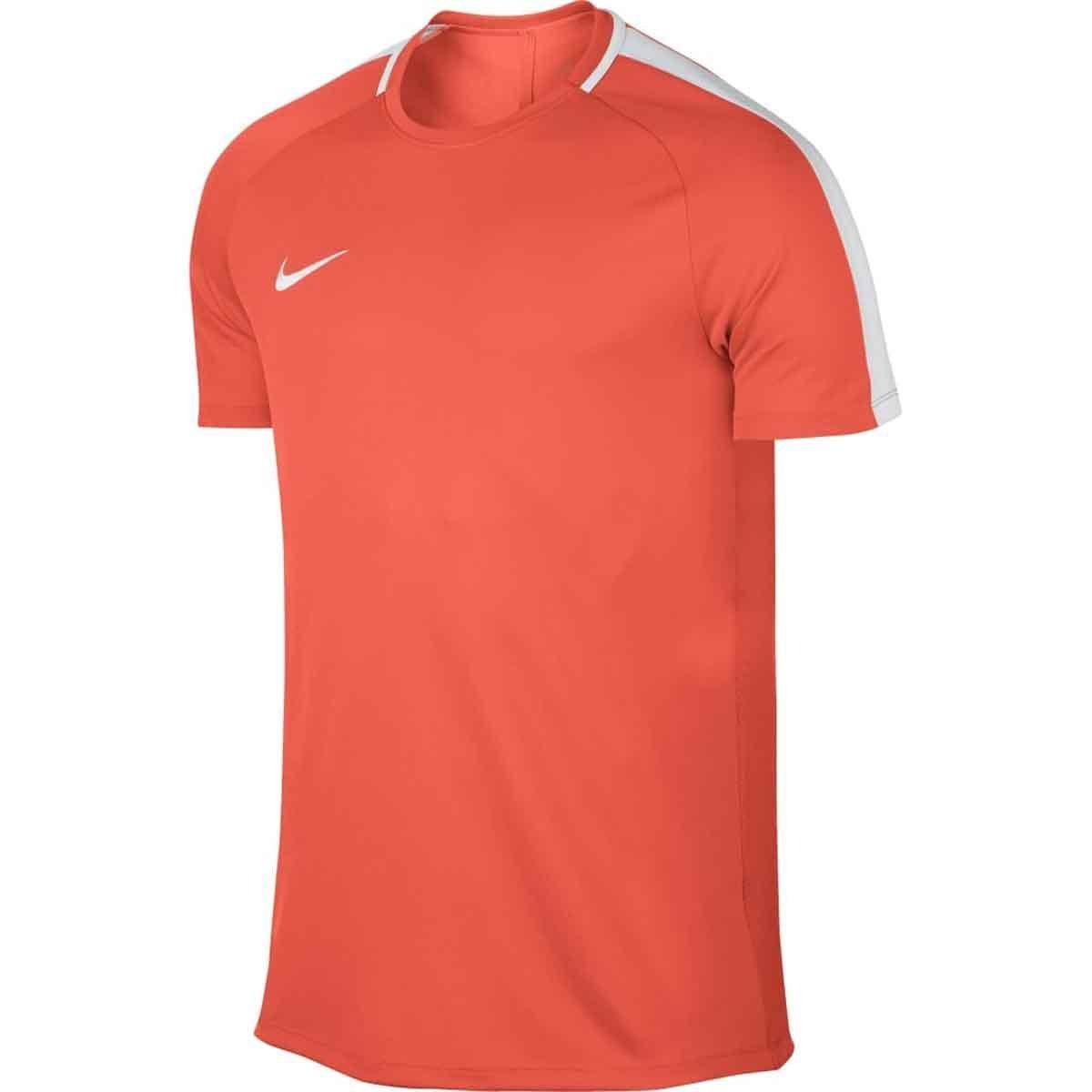 toxicidad Zumbido científico  Buy Nike Men's Dry Academy Football T-Shirt (Orange/White) Online
