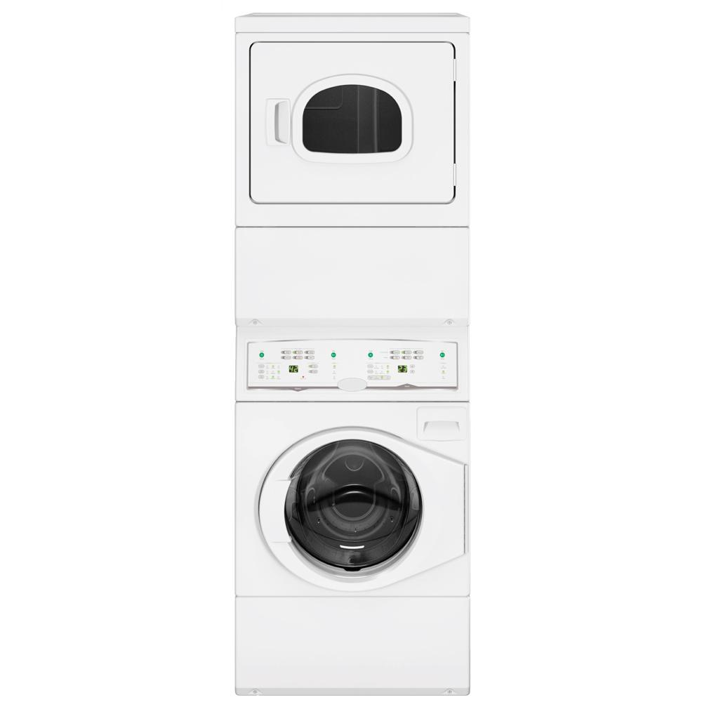 Stacked Washer Extractor And Tumbler