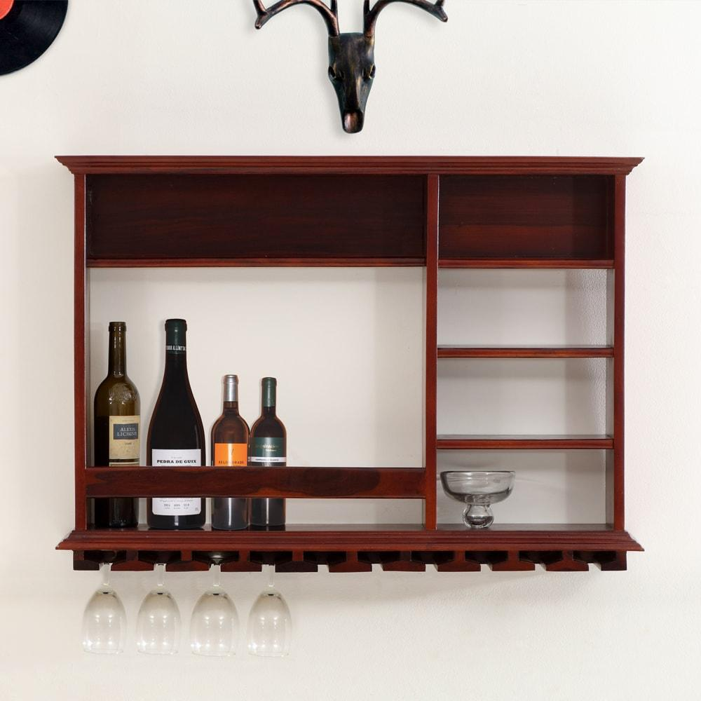 Davy Solid Wood Wall Hangining Wine