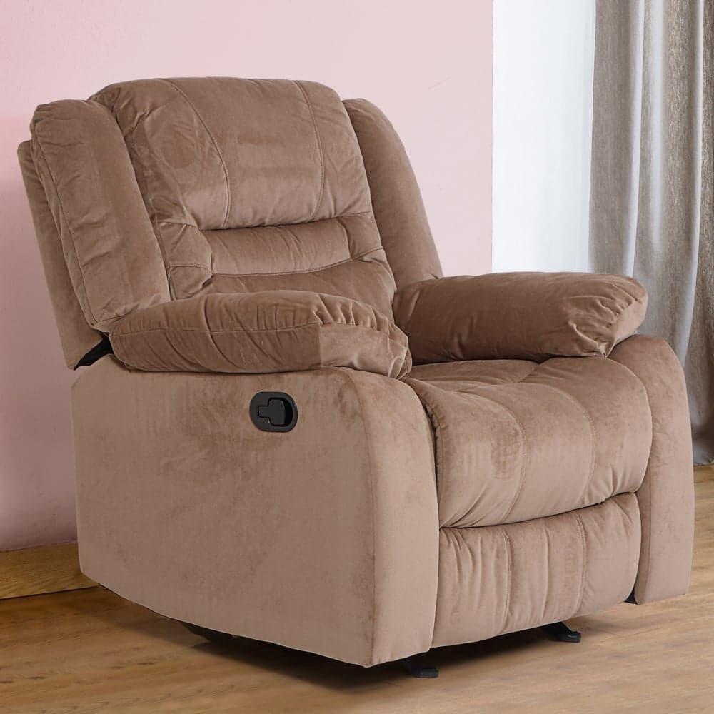 Houston Fabric Recliner Sofa 1