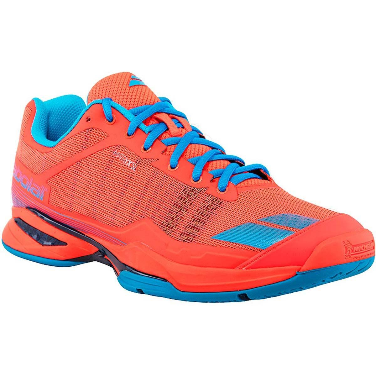 Buy Babolat Jet Team All Court Mens Tennis Shoes Red Blue Online India