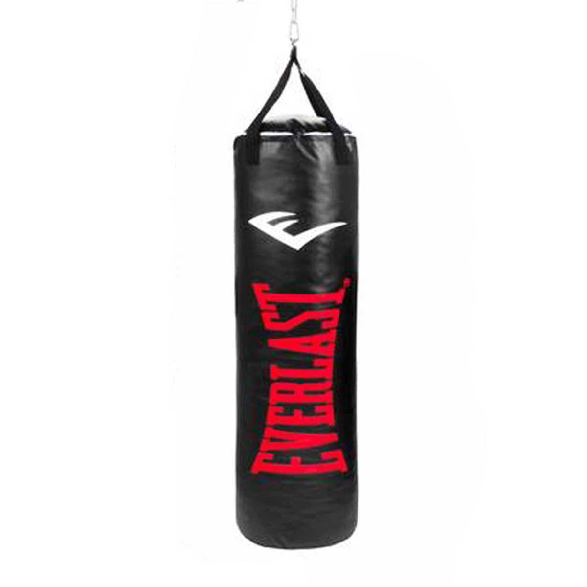 Buy Everlast Nevatear Shell-filled Punching Bag (13x40, Black/Red) Online India