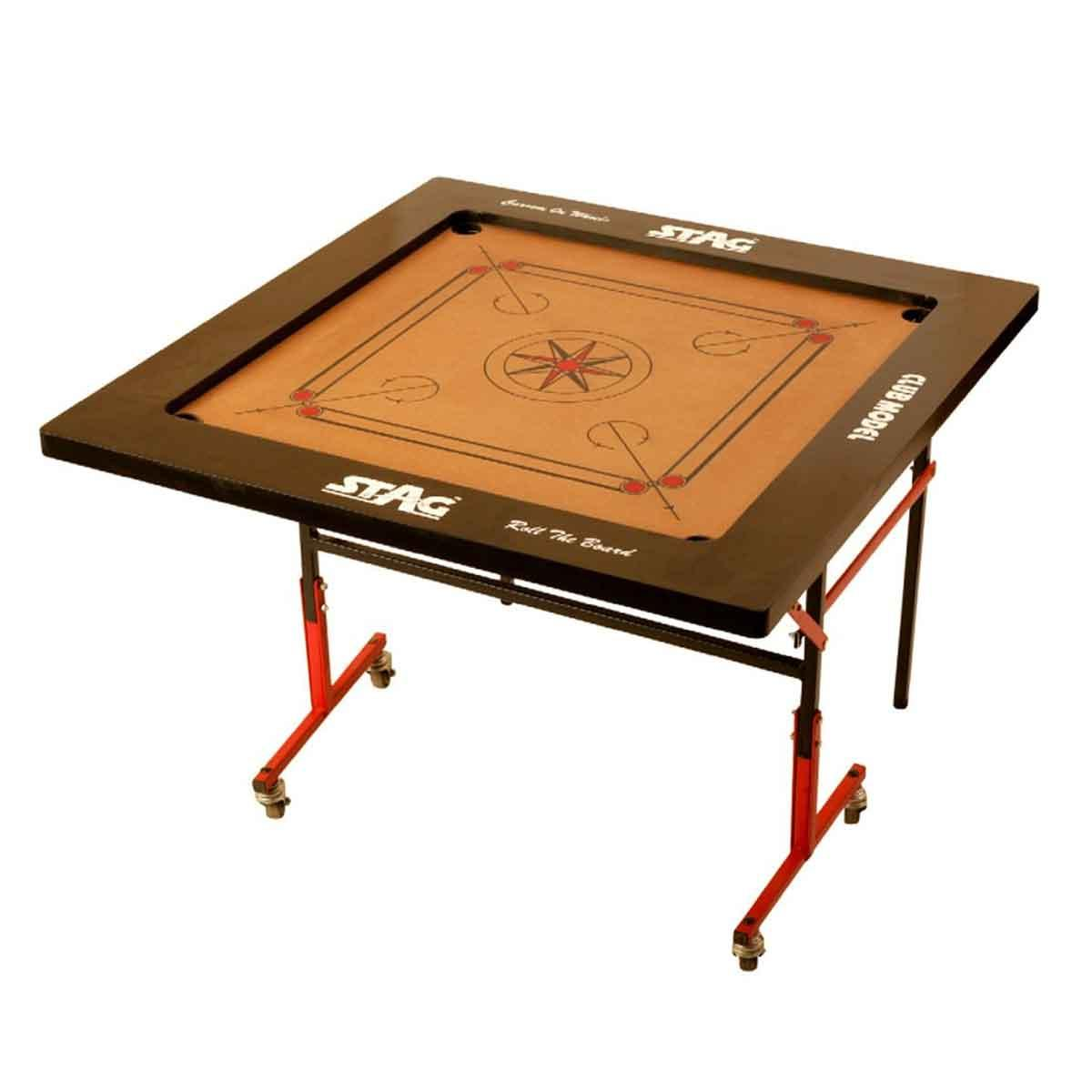 Buy Stag Club Carrom Board 4in Mdf Online In India