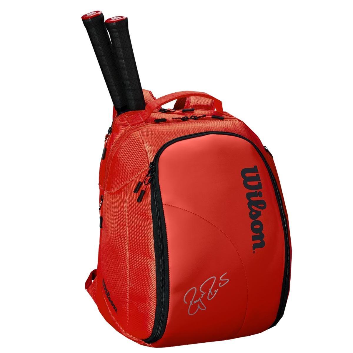Buy Wilson Federer Dna Tennis Backpack Infrared Online