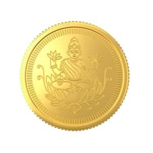 40 Gram 22 Kt Lakshmi Gold Coin