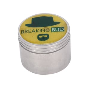 Breaking Bud 4 Part Metal Herb Grinder-50 mm Onlin