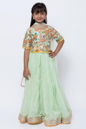 Lehenga For Girls Shop Lehenga Choli For Girls Online Biba