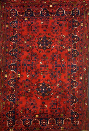 Antique tribal rugs, Antique Carpets & Rugs, Carpets & Rugs, Our Collection, The Carpet Cellar, Tribal Khan Mohamadi<br>A-3849<br>5 Feet X 3.2 Feet , Red, Maroon, Navy  Blue, Black , 5 Feet X 3.2 Feet