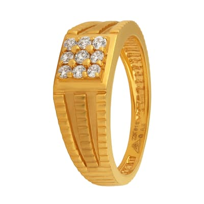 Buy Gold Ring For Men Online Joyalukkas Store