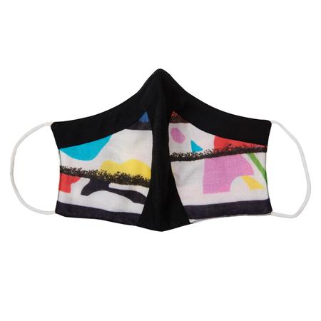 Duckbill Pleated Printed Antiviral Face Mask