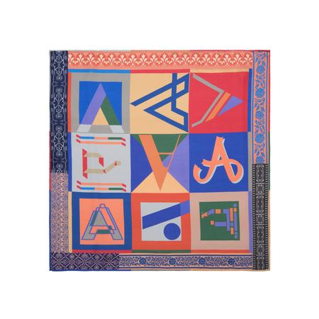 Alphabet Frolic Pocket Square