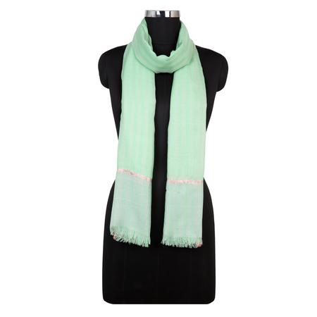 Bhuvi Sea Green Dobby Stole