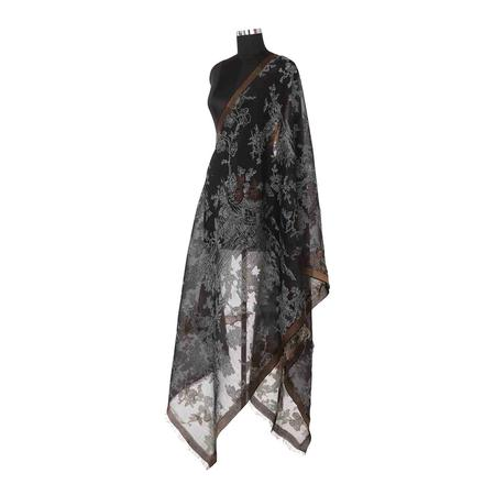 Ebony Night Sky Dupatta