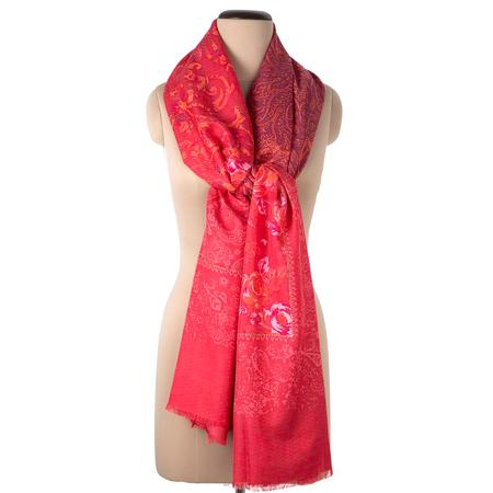 Cherry Cheer Red Shawl