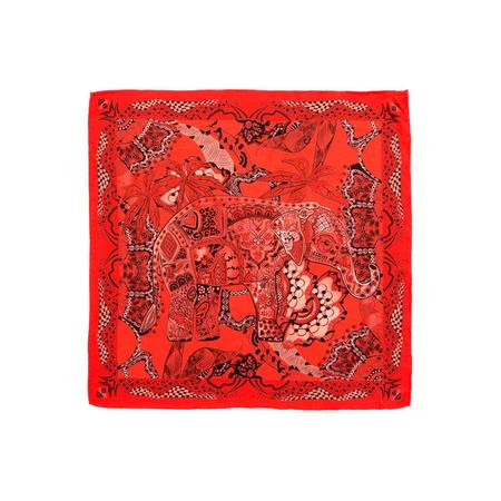 Rover Red Pocket Square