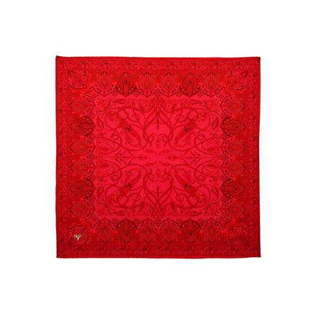 Scarlet Touch Pocket Square
