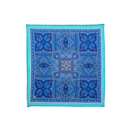 Wings Of Blue Paisley Pocket Square Pocket Square