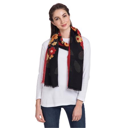 Blooming Bouquet Black Stole