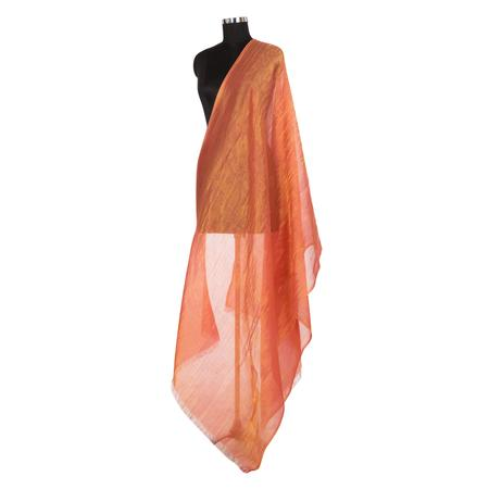 Crystal Tangerine Orange  Dupatta