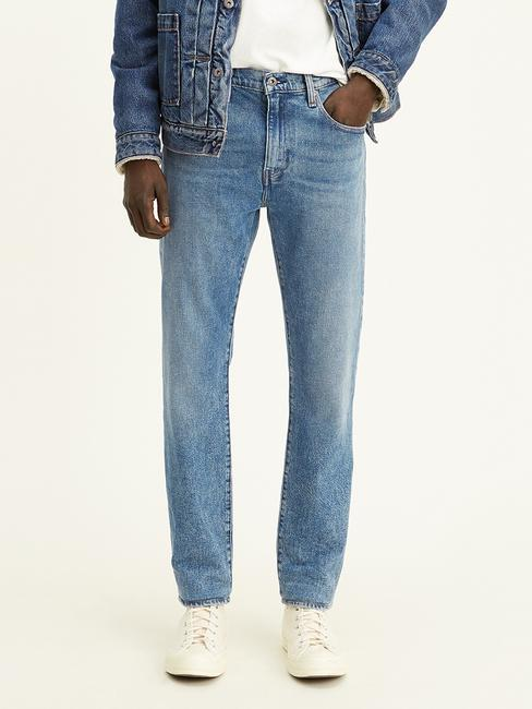 levi's® made & crafted® 502™ taper fit selvedge jeans