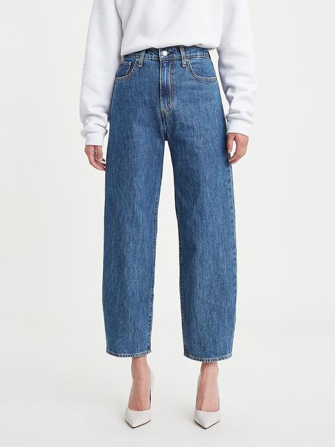 High Rise Balloon Jeans