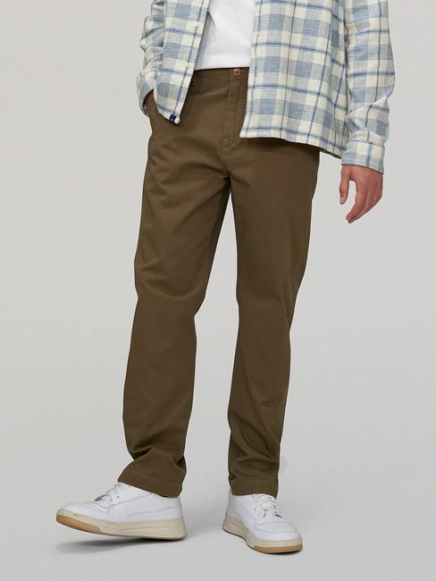 LEVI'S® MADE & CRAFTED®     STANDARD CHINO LMC DARK MOSS TWILL