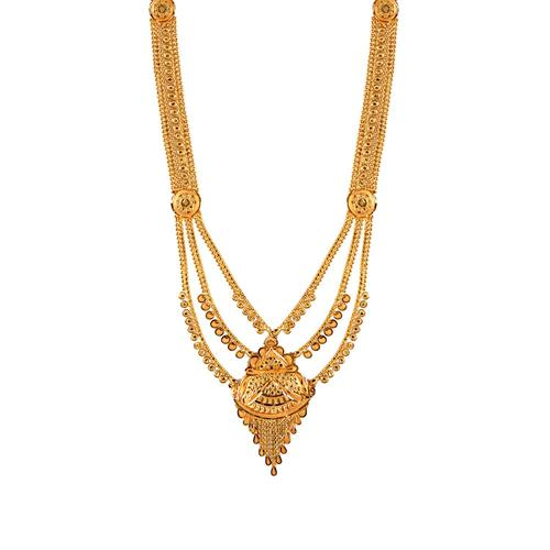 Gold Necklace Online In India Pn Gadgil Jewellers