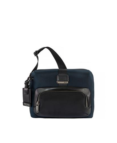 TUMI Singapore Navy Lewis Crossbody Bag