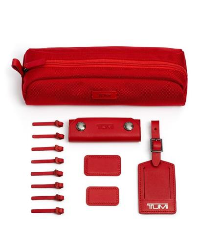 TUMI Singapore Red Accents Kit