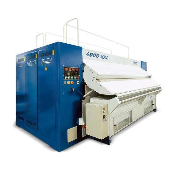 Single Roll, Chest Heated Ironers - 4000XXL Series