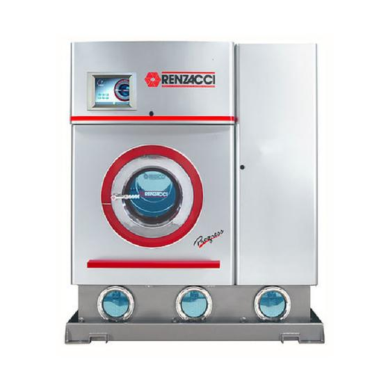 Renzacci 10 Kgs Perc Solvent Drycleaning Machines 3 Tanks