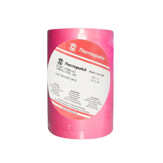 Thermopatch Fiber Roll Pink 13mm