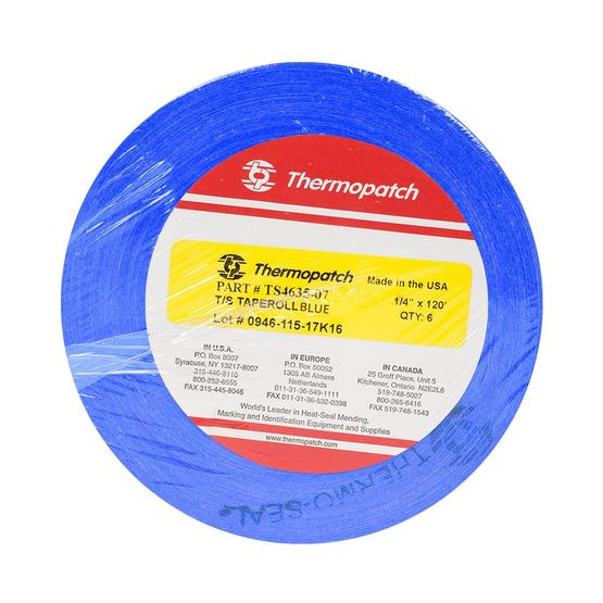 Thermopatch Marking Tape Blue 6 Roll