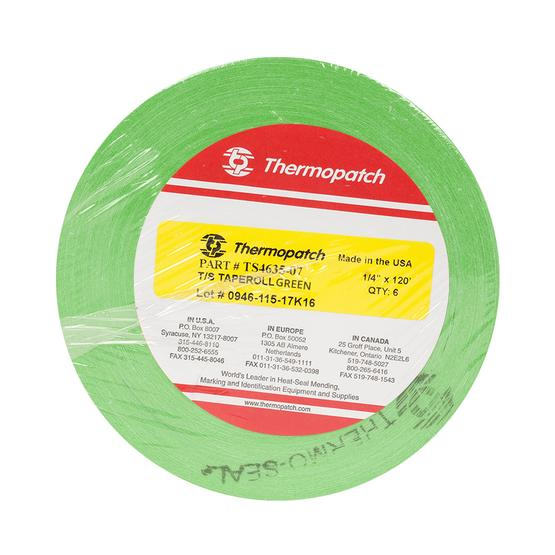 Thermopatch Marking Tape Green 6 Roll